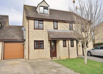 Thumbnail 4 bed semi-detached house for sale in Manor Road, Cogges Development, Witney