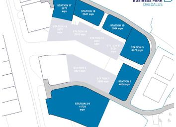 Thumbnail Light industrial to let in Faraday Business Park Non Airside Plots, Solent Airport, Daedalus, Lee-On-Solent, Hampshire