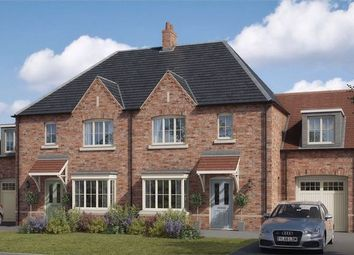 Thumbnail 4 bed semi-detached house for sale in The Coleby, Lodge Lane, Nettleham