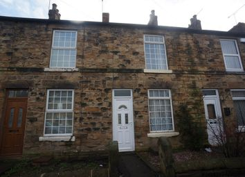 Thumbnail 2 bed terraced house to rent in Sheffield Road, Woodhouse, Sheffield