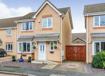 Thumbnail 3 bed detached house for sale in Hawthorne Road, Auckley, Doncaster