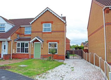 Thumbnail 2 bed semi-detached house to rent in St. Davids Crescent, Bottesford, Scunthorpe
