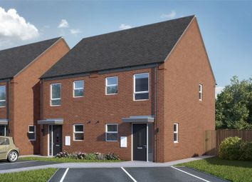 Thumbnail 2 bed semi-detached house for sale in Burton Road, Woodville, Swadlincote, Derbyshire