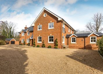 Thumbnail 6 bed detached house for sale in Station Road, Chobham, Surrey