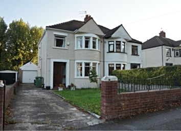 Thumbnail 3 bed semi-detached house to rent in New Road, Rumney