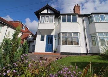 Thumbnail 3 bed semi-detached house for sale in Ashcroft Drive, Heswall, Wirral