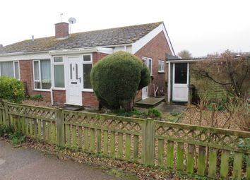 Thumbnail 2 bedroom semi-detached bungalow for sale in Walsingham Road, Bury St. Edmunds