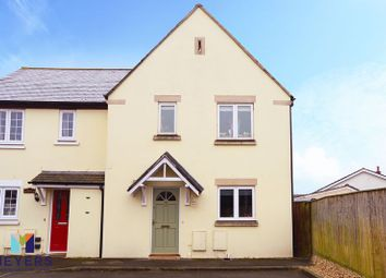 Thumbnail 3 bed semi-detached house for sale in Locks Court, Wool BH20.