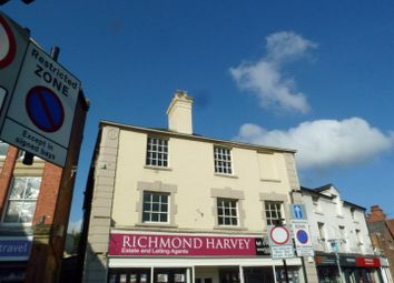 Thumbnail 2 bed flat to rent in Cross Street, Oswestry