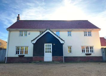Thumbnail 4 bed detached house to rent in Attleborough Road, Caston, Attleborough