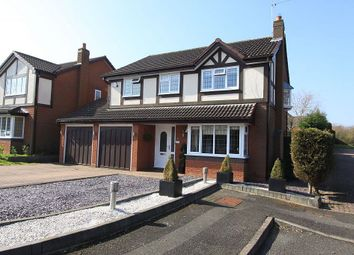 Thumbnail 4 bed detached house for sale in Hollington Way, Monkspath, Solihull, West Midlands