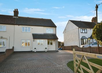 Thumbnail 4 bed semi-detached house for sale in Chelmsford Road, Barnston, Dunmow