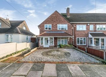 Thumbnail 3 bed end terrace house for sale in Weybourne Road, Birmingham, West Midlands