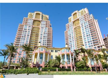 Thumbnail 3 bed town house for sale in 2100 N Ocean Blvd 12A, Fort Lauderdale, Fl, 33305