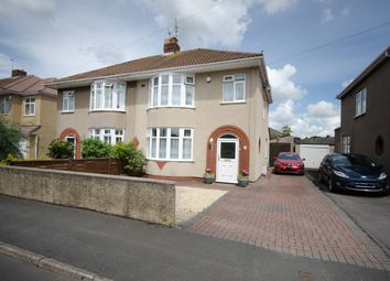 Thumbnail 3 bed semi-detached house for sale in Quakers Road, Bristol