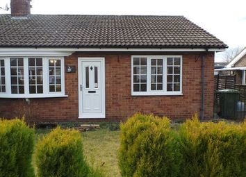 Thumbnail 2 bed semi-detached bungalow for sale in Croft Way, Camblesforth, Selby