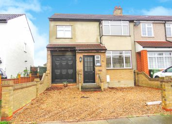 Thumbnail 4 bedroom end terrace house for sale in Northumberland Avenue, Hornchurch