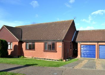 Thumbnail 2 bed semi-detached bungalow for sale in Church View, Redenhall, Harleston