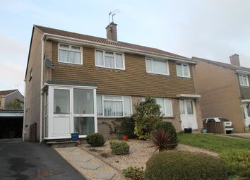 Thumbnail 3 bed semi-detached house for sale in Priory Close, Ivybridge