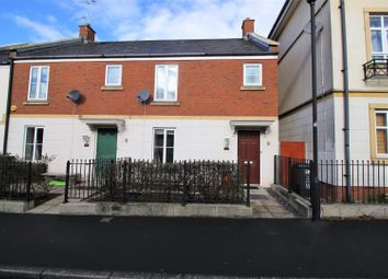 Thumbnail 3 bedroom end terrace house for sale in Britten Road, Redhouse, Swindon