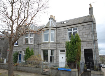 Thumbnail 2 bed flat to rent in Abergeldie Terrace, Aberdeen AB10,