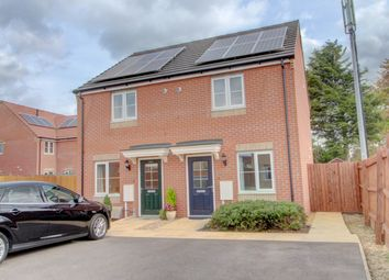 Thumbnail 2 bed semi-detached house for sale in Viscount Close, Pinchbeck, Spalding
