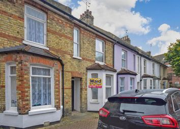 Thumbnail 2 bed terraced house for sale in Bradstone New Road, Folkestone, Kent