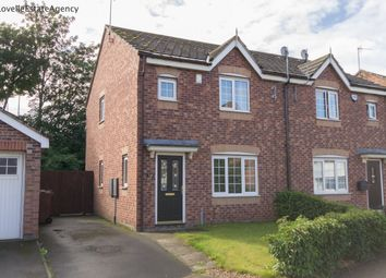 Thumbnail 3 bed semi-detached house to rent in Old School Lane, Keadby, Scunthorpe