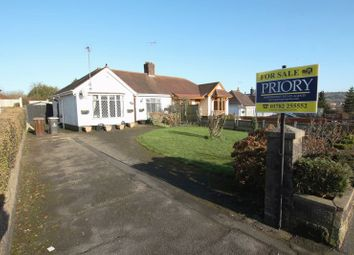 Thumbnail 2 bed semi-detached bungalow for sale in Halls Road, Biddulph, Stoke-On-Trent