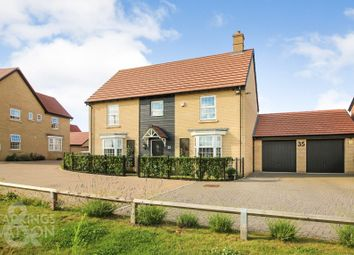 Thumbnail 5 bed detached house for sale in Brickle Wood Avenue, Poringland, Norwich