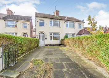Thumbnail 3 bed semi-detached house for sale in Browning Avenue, Rock Ferry, Birkenhead