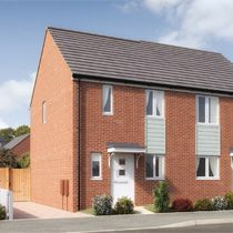 Thumbnail 2 bedroom semi-detached house for sale in Dial Lane, Phase 3, West Bromwich
