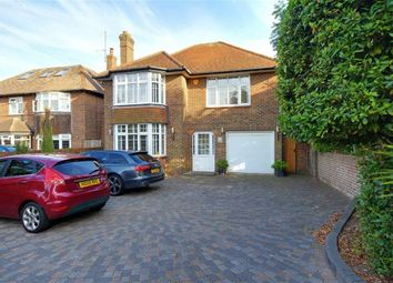 Thumbnail 4 bed detached house for sale in Upper Brighton Road, Broadwater, Worthing, West Sussex