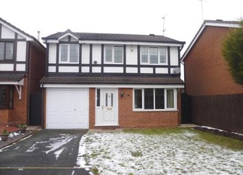 Thumbnail 4 bed detached house to rent in Thornbury Court, Perton, Wolverhampton
