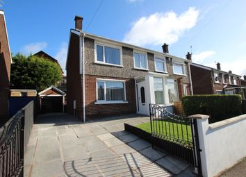 Thumbnail 3 bed semi-detached house for sale in Church Crescent, Newtownabbey