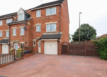 Thumbnail 4 bed town house for sale in Martindale Close, Staveley, Chesterfield