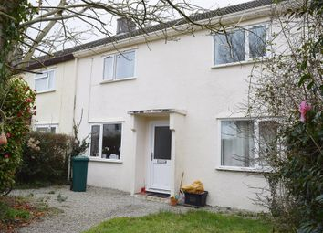 Thumbnail 3 bed terraced house to rent in Carnon Crescent, Carnon Downs, Truro