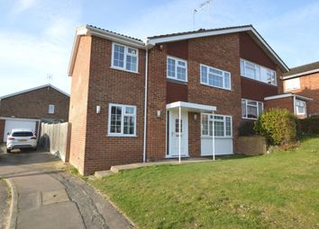 Thumbnail 4 bed semi-detached house for sale in Meavy Close, High Wycombe