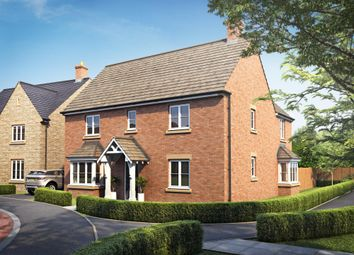 "Thumbnail 4 bed detached house for sale in ""Cadleigh"" at Field Close, Longworth, Abingdon"
