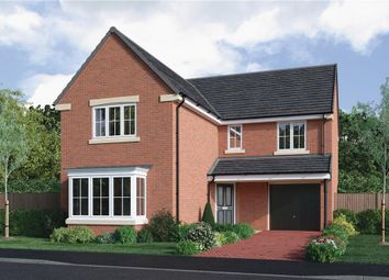 """Thumbnail 4 bedroom detached house for sale in """"The Fenwick"""" at Choppington Road, Bedlington"""