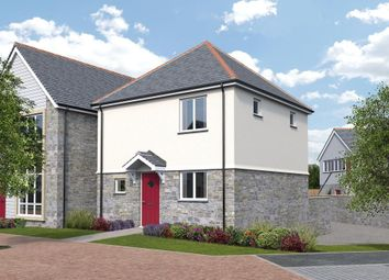 Thumbnail 2 bed link-detached house for sale in Park An Daras, Falmouth Road, Helston, Cornwall