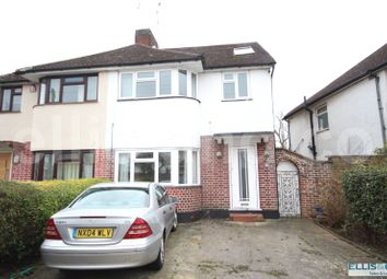 Thumbnail 4 bed semi-detached house for sale in Oakhampton Road, Mill Hill, London