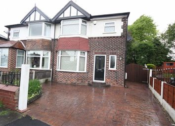 Thumbnail 3 bedroom semi-detached house to rent in Burnside Avenue, Salford