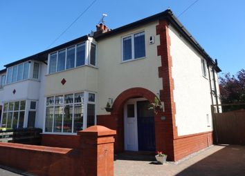 Thumbnail 3 bed semi-detached house for sale in Raleigh Road, Fulwood, Preston