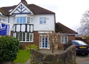 Thumbnail 5 bed semi-detached house to rent in Vine Court Road, Sevenoaks