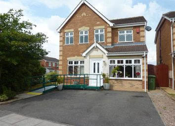 Thumbnail 4 bed detached house for sale in Freyja Croft, Scartho Top, Grimsby
