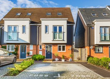 Thumbnail 3 bed semi-detached house for sale in Tippett Lane, Oxted