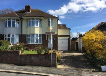 Thumbnail 3 bed semi-detached house to rent in Woodbrook Road, Hastings