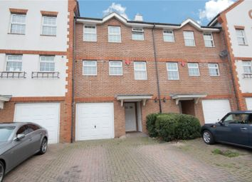 Thumbnail 4 bed terraced house for sale in Meadow View, Chertsey, Surrey