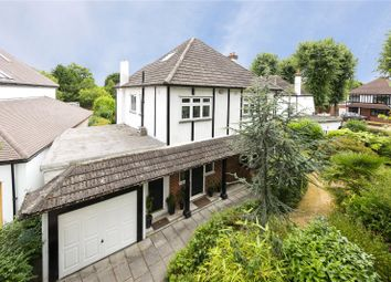 Thumbnail 4 bed detached house for sale in Castellan Avenue, Gidea Park